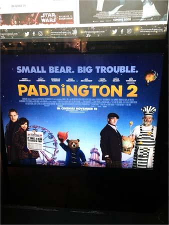 イギリスで公開されたパディントン2