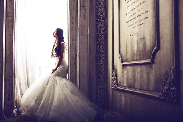 イギリスの結婚式前のイメージ