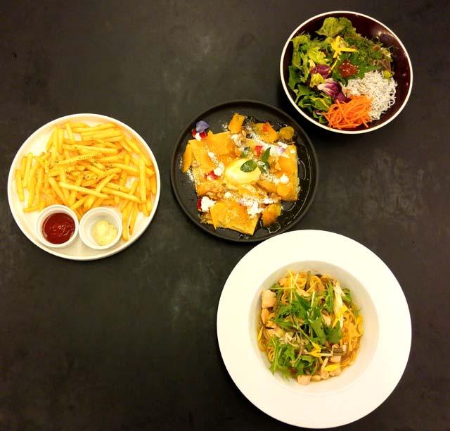 渋谷Bunkamuraのロビーラウンジ料理