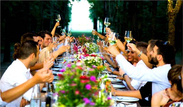 イギリスのパーティーのイメージ
