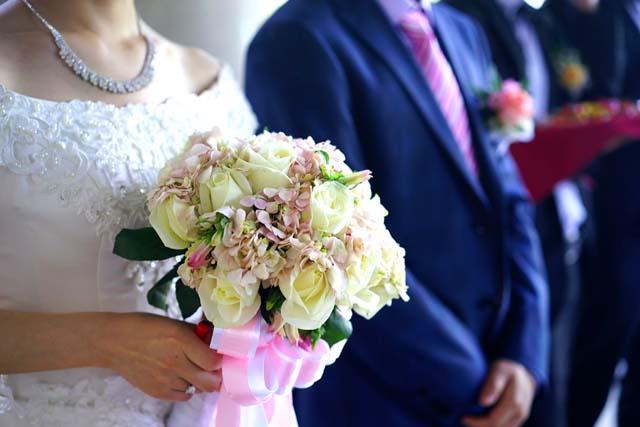 イギリスの結婚式のイメージ