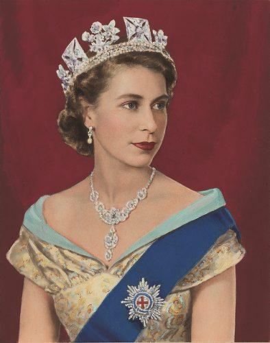 エリザベス2世の肖像画