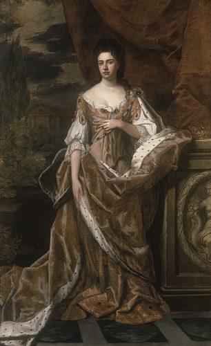 アン女王の肖像画