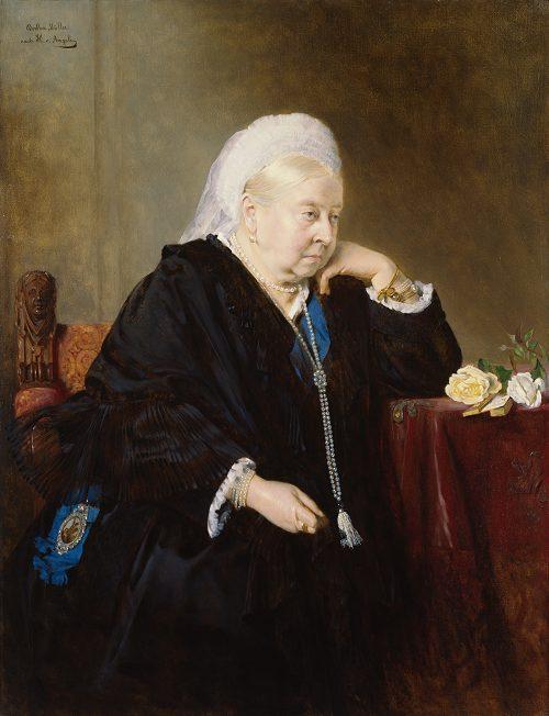 ヴィクトリア女王の肖像画